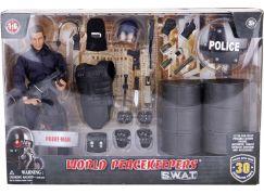 Ep Line Peacekeepers 30,5 cm S.W.A.T. hrací set Sudy