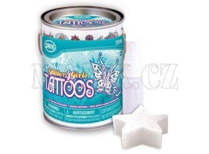 EP Line Savvi Tetování v plechovce - Glitter Tattoos