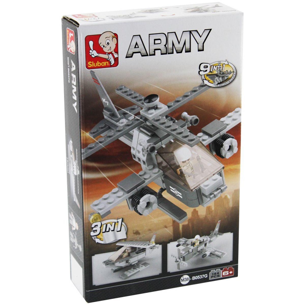 EP Line Sluban Stavebnice 3v1 Vrtulník