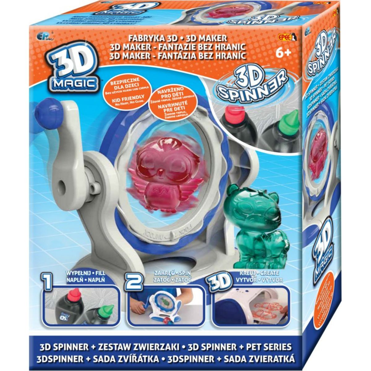 EPline 3D Magic spinner