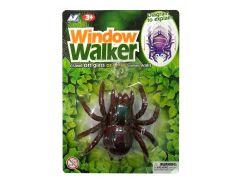 EPline Pavouk na sklo hnědý