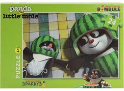 EPline Puzzle Krtek a Panda 24d