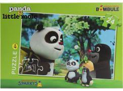 EPline Puzzle Krtek a Panda na výletě 24d