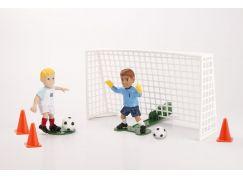 EPline Shooters fotbalista s brankářem a brankou Anglie