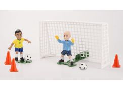 EPline Shooters fotbalista s brankářem a brankou Brazílie