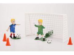 EPline Shooters fotbalista s brankářem a brankou Francie