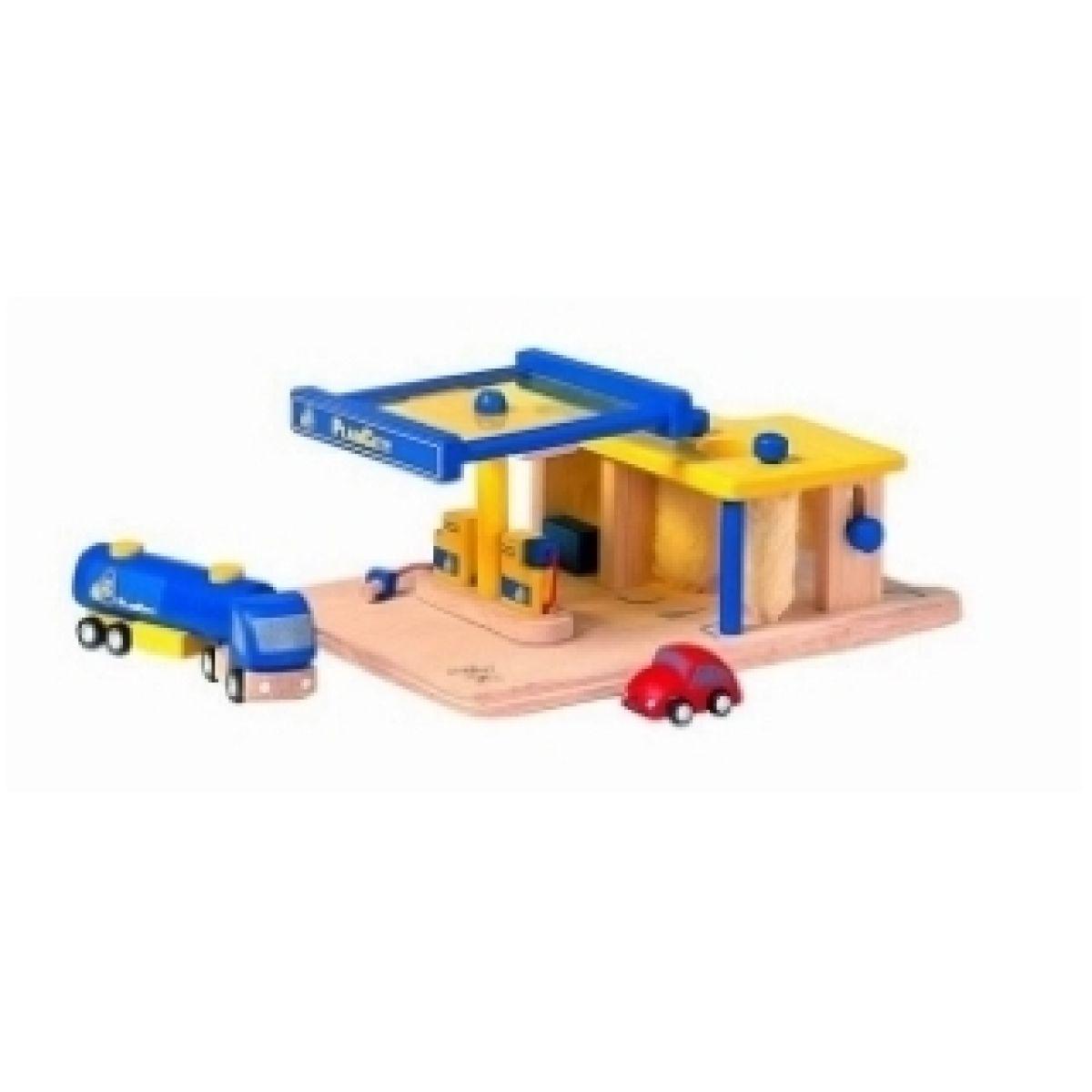 Čerpací stanice Plan Toys