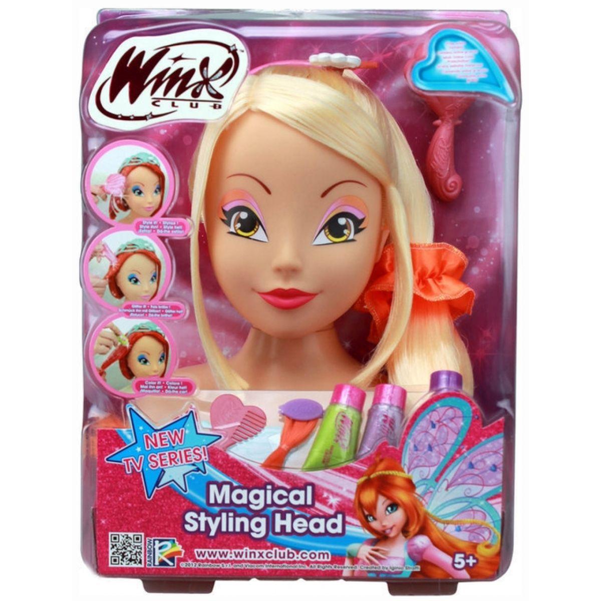 Česací hlava WinX Styling Head - Stella