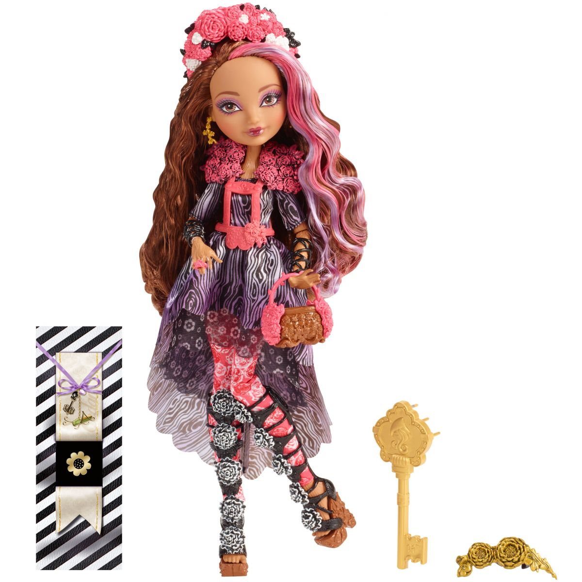 Ever After High Bouřlivé jaro panenka - Cedar Wood