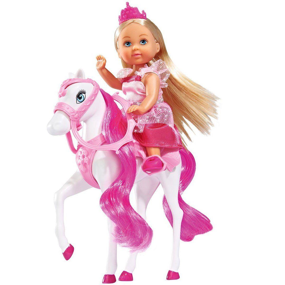 Evi Love Panenka Evička Princezna s koněm