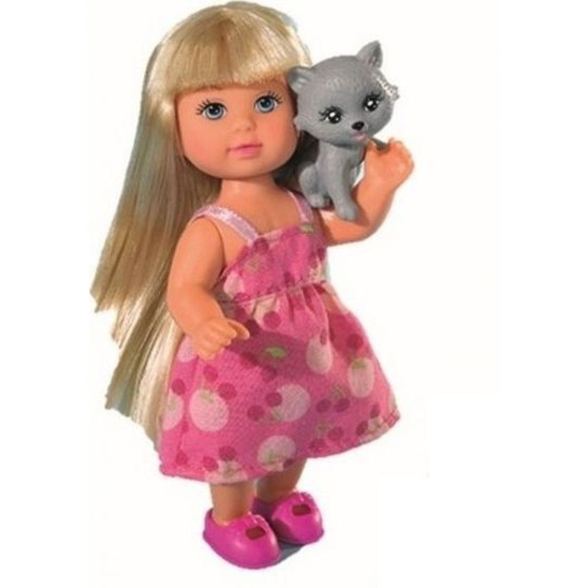 Evi Love Panenka Evička se zvířátkem kočička