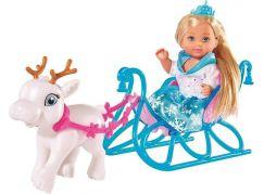 Evi Love Panenka Evička Sněhová princezna s kočárem