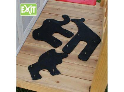 Exit Dekorační set pro domečky - safari