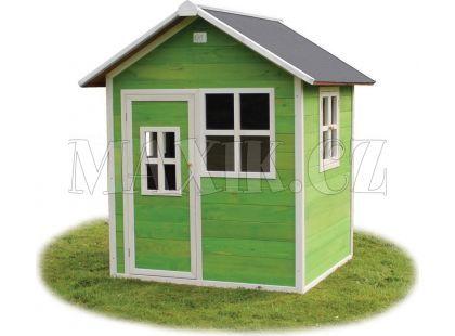 Exit Dřevěný domeček Loft 100 zelený