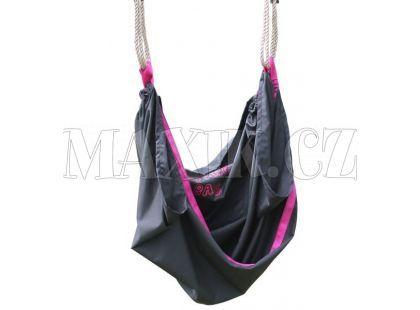 EXIT Houpačka Swingbag černo/růžová