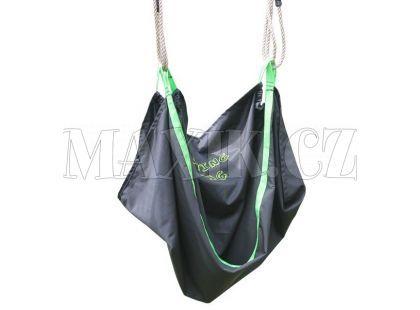 EXIT Houpačka Swingbag černo/zelená