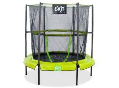 EXIT Trampolína Bounzy Mini Green s ochrannou sítí 140cm
