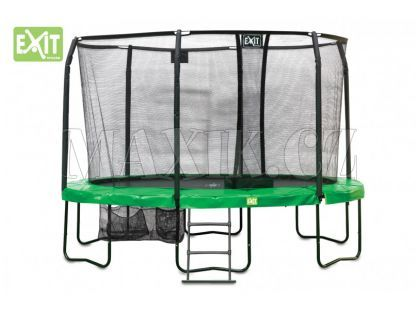 Exit Trampolína JumpArena All-in 1 ovál 380x244 cm