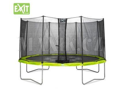 Exit Trampolína Twist se sítí 244 cm Green Grey