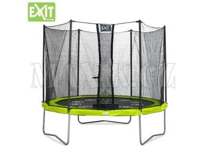Exit Trampolína Twist se sítí 305 cm Green Grey
