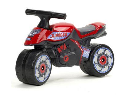 Falk Odstrkovadlo motorka červená