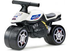 Falk Odstrkovadlo motorka policejní modro-bílá