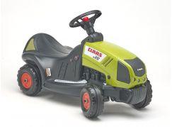 Falk Odstrkovadlo traktor Claas Axos 340 s volantem zelený
