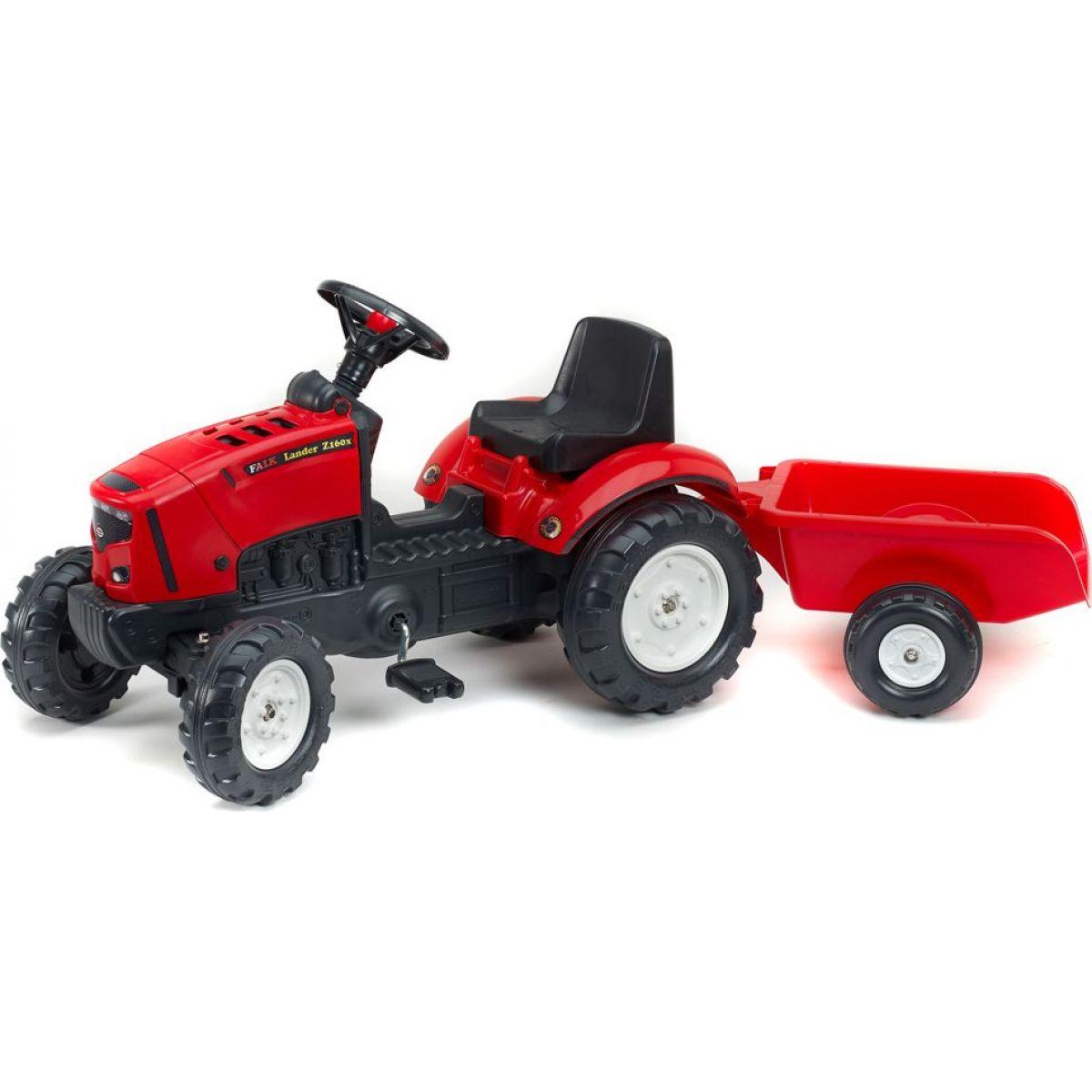 Falk Traktor Falk Lander Z160X s valníkem a otevírací kapotou