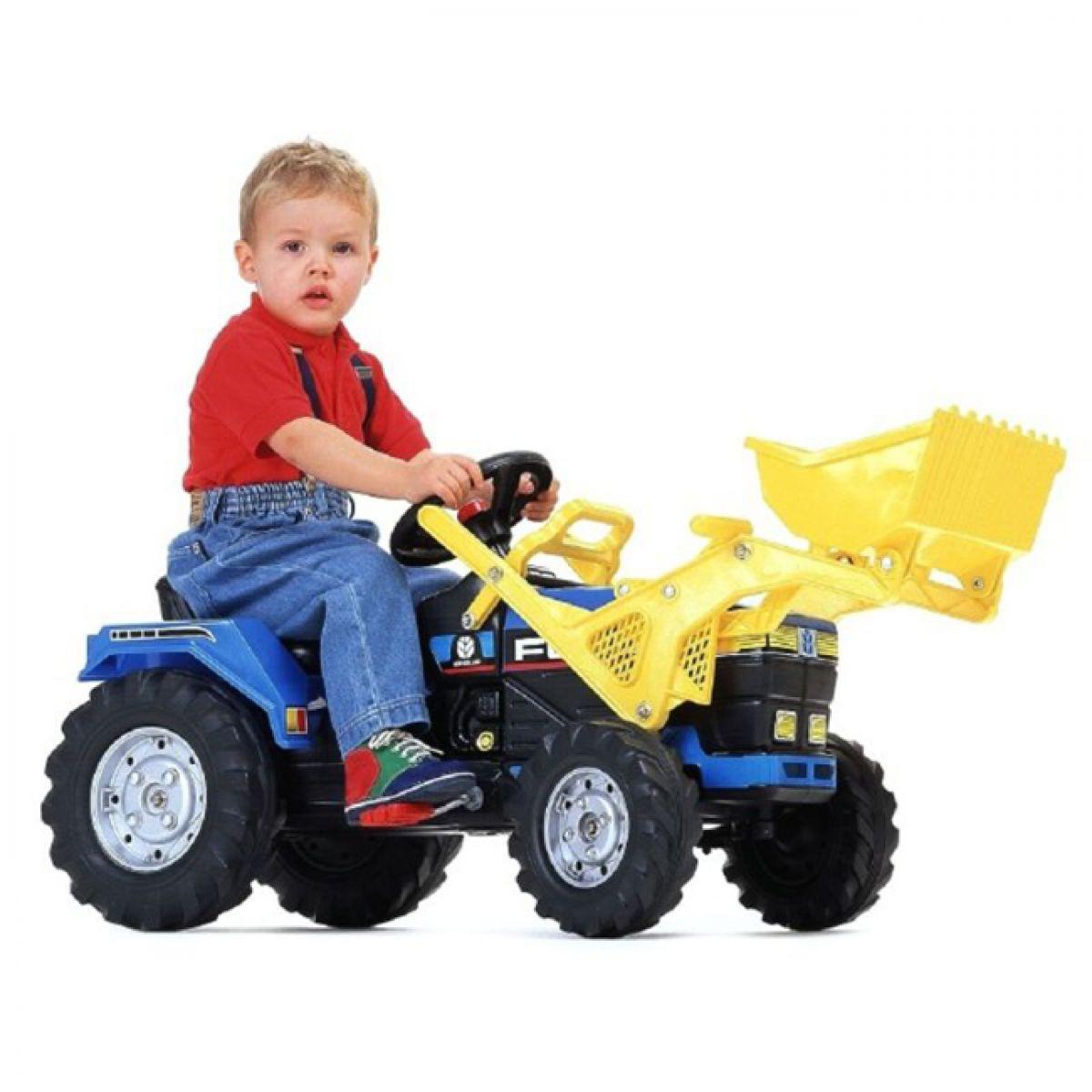 Falk Traktor FORD 8870 nakladač modrý