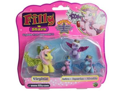 Filly Stars Glitter Rodinka 1+3 - Virginia