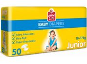 Fine Life JUNIOR Diapers 50 pcs