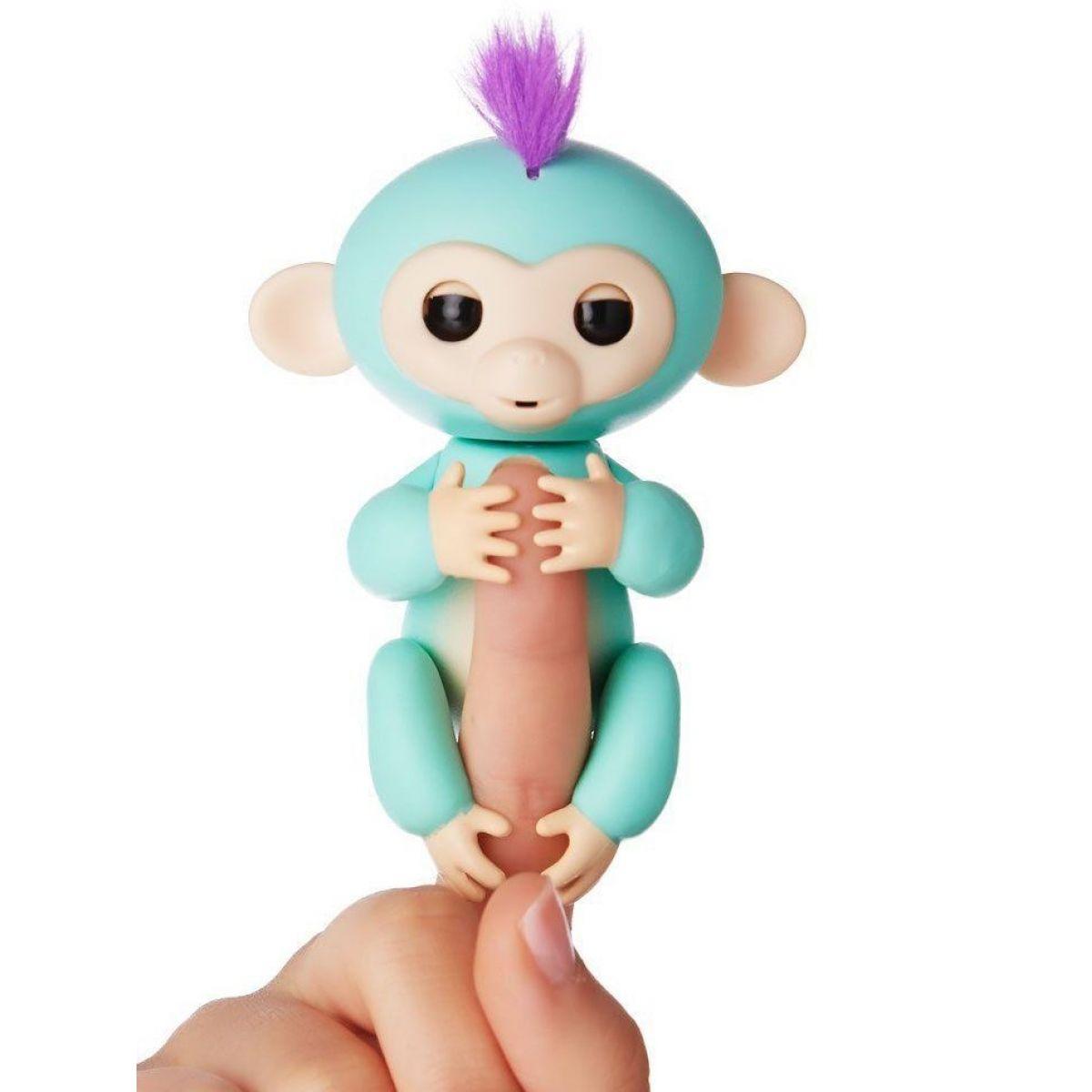 Fingerlings Opička Zoe tyrkysová