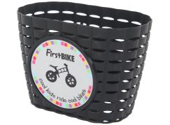 First Bike Košík na řidítka černý