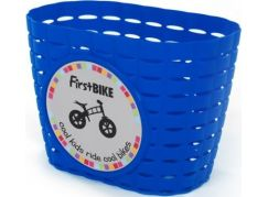 First Bike Košík na řidítka modrý