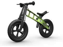First Bike Odrážedlo Fat Edition Green - Poškozený obal