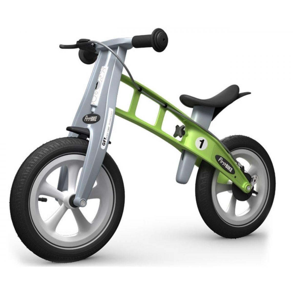 First Bike Odrážedlo Racing green