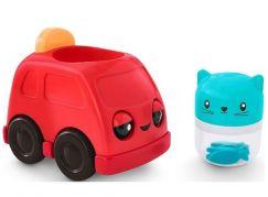 Fisher Price chrastící vozítka červené auto
