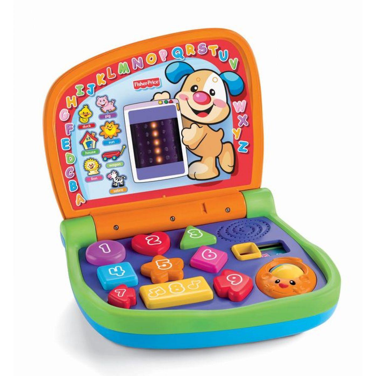 Fisher Price Dvojjazyčný svítící notebook