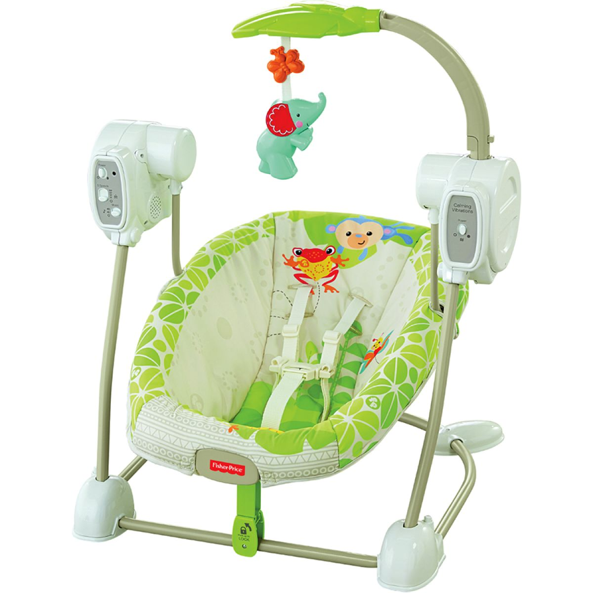 Fisher Price Houpačka a sedátko v jednom rainforest