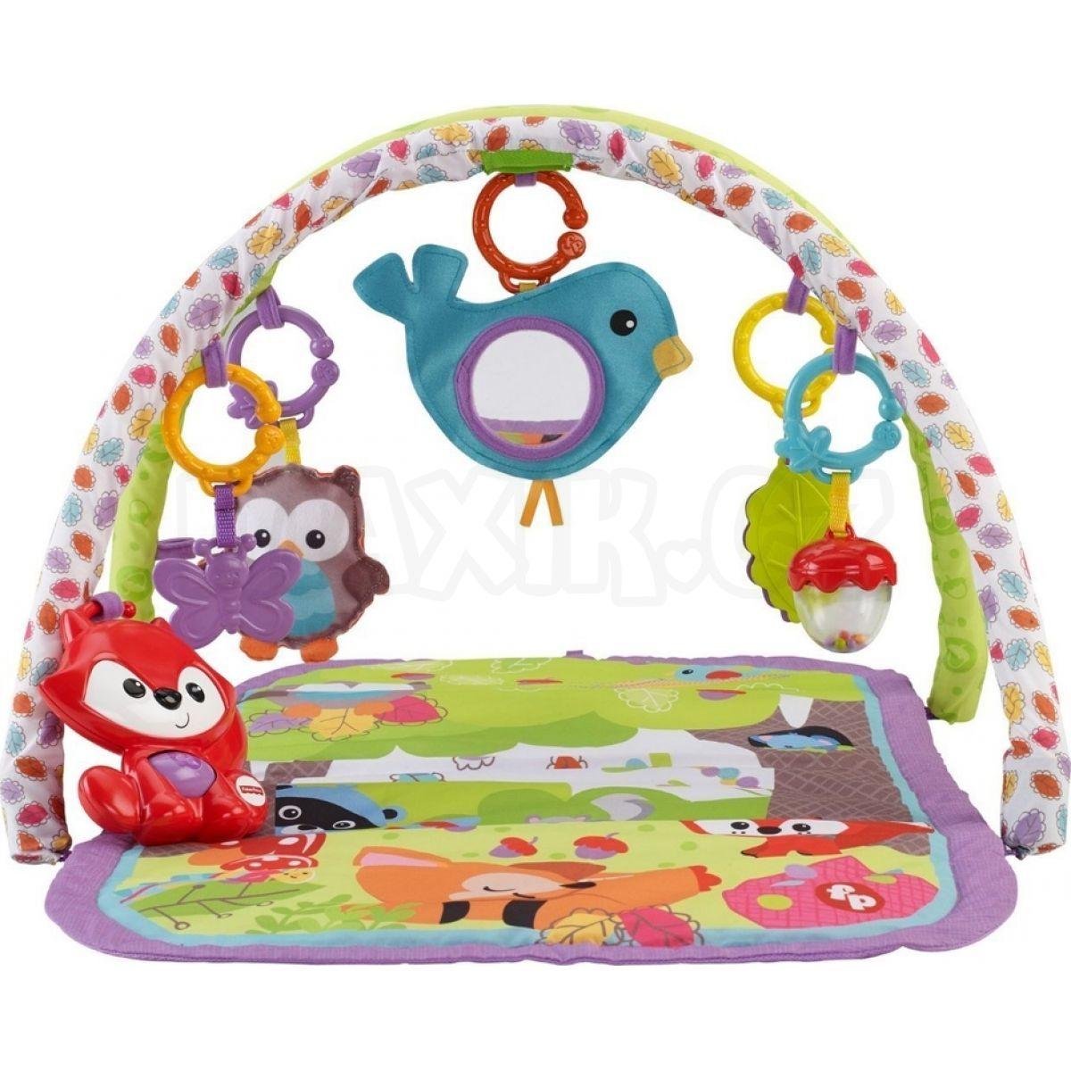66a3e4458 FISHER PRICE Hrací deka s hrazdičkou lesní kamarádi | Maxíkovy hračky