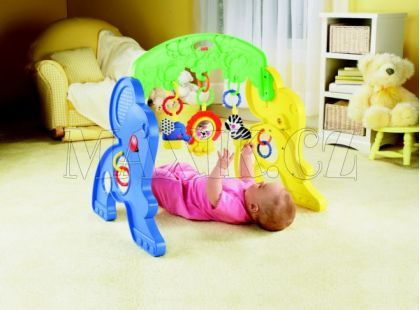 Fisher Price Hrazdička  veselý slon Mattel