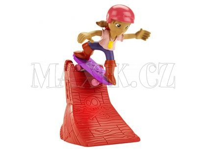 Fisher Price Jake figurky na skateboardu - Izzy