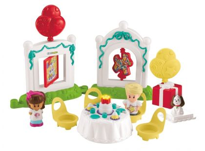 Fisher Price Little People Narozeninová herní sada