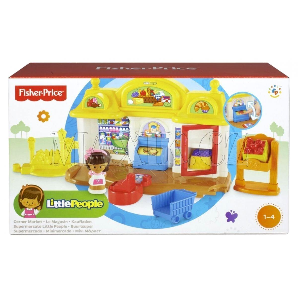 ae1f8bcce Fisher Price Little People Obchod s potravinami | Maxíkovy hračky