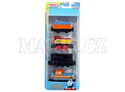 Fisher Price Mašinka Tomáš Take-n-Play Multi Pack - Dieselworks Fix-Up