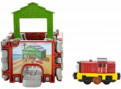 Fisher Price Mašinka Tomáš Take-n-Play kostka s tratěmi - DGK94 Salty
