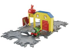 Fisher Price Mašinka Tomáš Take-n-Play Přenosná herní sada koleje - McColl´s Farm Tile Tracks
