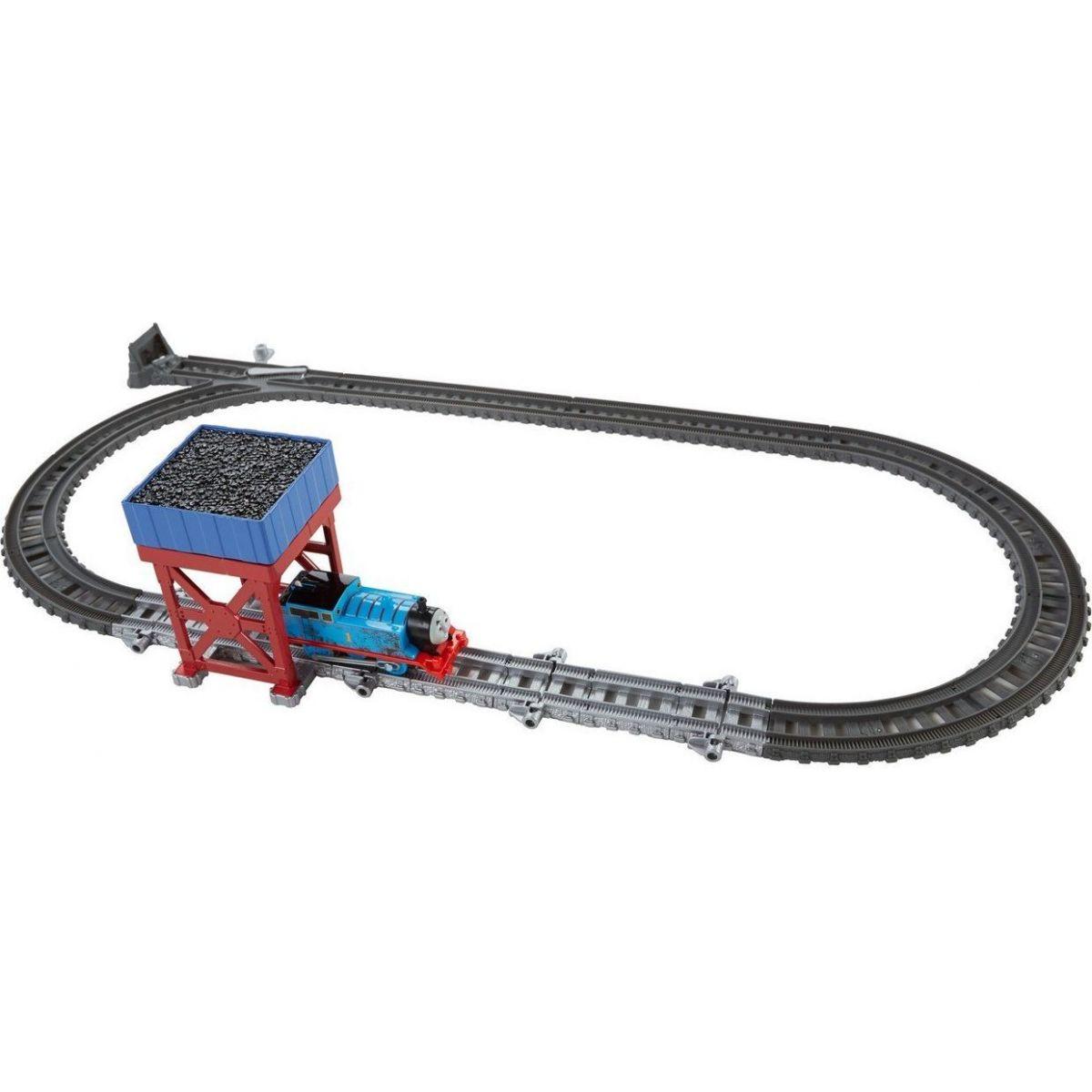 Fisher Price Mašinka Tomáš TrackMaster Set s cílovou stanicí 2v1