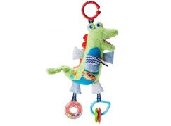 Fisher Price měkkoučký krokodýlek s aktivitami