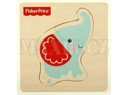 Fisher Price Moje první puzzle 3d - Slon